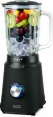 MOA TB61B - Blender met glazen kan - 1,5 liter - 1000 Watt - Zwart