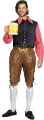 Bruine Generik Lederhosen oktoberfest kleding voor heren - Volwassenen kostuums