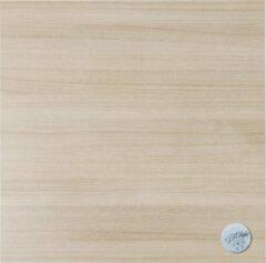 Naturelkleurige Kokoon Tafelblad HORECA Vierkant Naturel 68x68x5cm