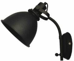 Maxtrendy Wandlamp Spot Zwart