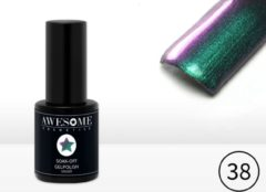 Paarse Awesome #38 Kameleon Gelpolish - Gellak - Gel nagellak - UV & LED