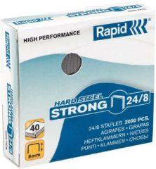 Bruna Nieten Rapid 24/8 kopercoating strong 2000 stuks