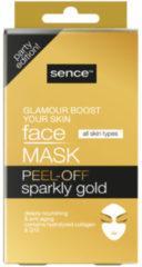 SenceBeauty Gezichtsmasker Peel-Off Goud 5 stuks