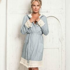 TRUE BANDITS - Hygge Robe Mia - Badjas - Blauw - M/L