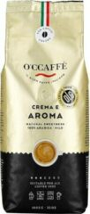 Occaffe O'ccaffè - Crema e Aroma Premium Italiaanse koffiebonen 100% Arabica | 1 kg | Barista kwaliteit