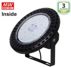Groenovatie LED Highbay UFO 150W Pro Koel Wit, MeanWell Driver Inside