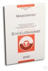 Schoellershammer Marker-Layoutpapier A4 75g/m2 blok 75 vel (ZIE VF5004273)