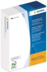 Etiketten Herma 2760 voor drukmachines DP1 Ø 32 mm rond wit papier mat 5000 st.