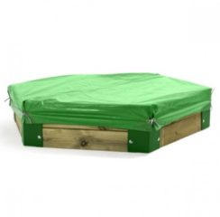 Hörby bruk Afdekhoes Voor Zandbak 150 Van Horby Bruk groen