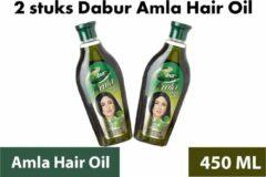 Dabur Amla Haarolie | Hair oil | 450 ml | 2 stuks