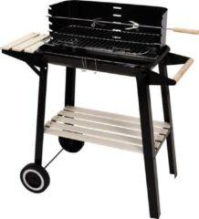 Zwarte LOKS Barbecue / BBQ (verrijdbaar)