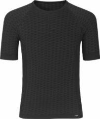 Zwarte GripGrab Expert Seamless Lightweight Baselayer S/S Sportshirt Unisex - Maat XS/S