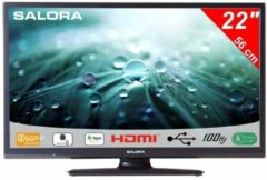 Zwarte Salora 22LED9109 Satelliet TV - HD ready