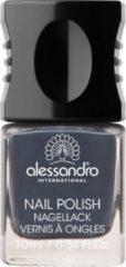 Grijze Alessandro Nail Polish - 76 New York Grey - 10 ml