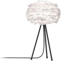 VITA Umage EOS Mini Tafellamp - Ø35 cm - Wit - incl. zwarte voet