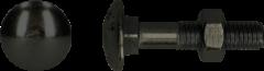 PGB Europe Slotbout | Zwart verzinkt | 6 x 40 mm