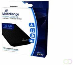 MediaRange External SSD 120GB silver - Solid State Disk - 120 GB Zilver