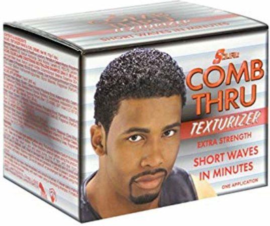 Afbeelding van S-Curl Comb Thru Relaxer Kit Super 1 App