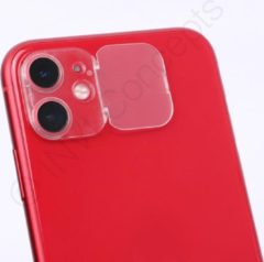 *PREMIUM* IN-VI® Rear Camera Lens Protector Transparant voor iPhone 11 // ✓ Camera Cover & Protecor in 1 ✓ Betrouwbaar 3M glue ✓ Anti Spy ✓ Ook geschikt voor op telefoonhoesjes