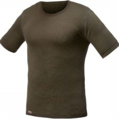Woolpower Crewneck 200 SS T-shirt Dames Donkergroen