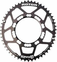 Rotor Aldhu kettingblad 110x4 binnen ovaal zwart Uitvoering 36 tanden