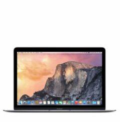 Grijze MacBook 12 inch Dual Core M3 1.1 8gb 256gb-Product bevat lichte gebruikerssporen