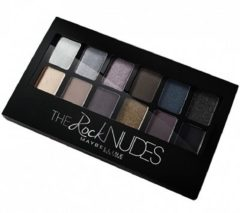 Maybelline Eyestudio Palette - 02 Rock Nudes - Oogschaduwpalet Multi Glitter, Satijn, Shimmer oogschaduw