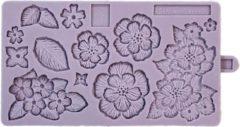 Paarse Karen Davies Siliconen Mal Brush Embroidery