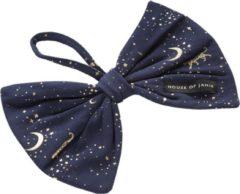 Donkerblauwe House of Jamie - Pacifier Cord Bow Tie - Stargazer - Speenkoord - Speenlint