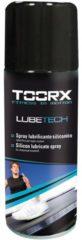 Zwarte Toorx Fitness Toorx LUBETECH Siliconen Spray 200 ml - voor loopbanden