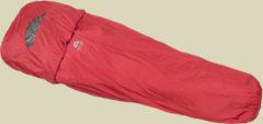 Mountain Equipment Ion Bivi Schlafsacküberzug bis Körpergröße 200 cm cherry red