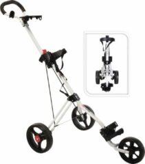 Fast Fold FastFold - Trimaster 3-wheel golftrolley - wit