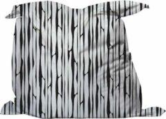YFS Zitzak Bamboe Zwart Wit - Medium 135x135cm