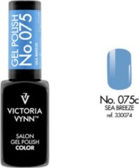 Blauwe Gellak Victoria Vynn™ Gel Nagellak - Salon Gel Polish Color 075 - 8 ml. - Sea Breeze