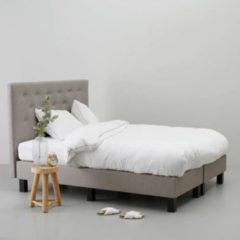 Taupe Wehkamp home complete boxspring Victoria (160x210 cm)