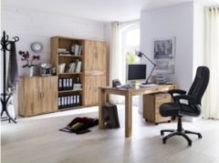 Baidani Designer Schreibtisch Daina Massivholz