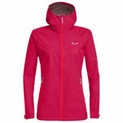 Salewa - Women's Puez Aqua 3 PTX Jacket - Regenjack maat 44, roze
