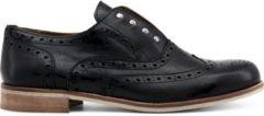 Zwarte Made in Italia - Platte schoenen - Vrouw - TEOREMA NERO