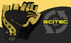 Gele Scitec Nutrition - Trainingshandschoenen - Mannen - Workout Gloves - Power Style - XL