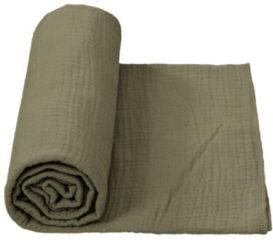 Cottonbaby Multidoek Cottonsoft XL -120x120 cm - kakigroen