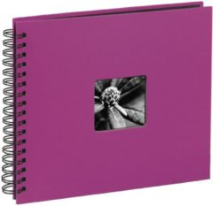 Roze Hama Fine Art spiraal pink 36x32 50 zwarte Pagina's 10608