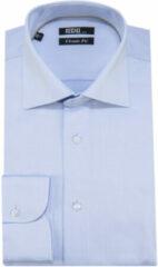 Lichtblauwe Recall Fit overhemd extra lange mouwen licht blauw