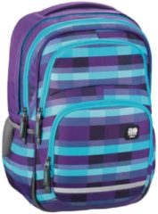 All Out Blaby Rucksack Summer Check Purple All Out summer check purple