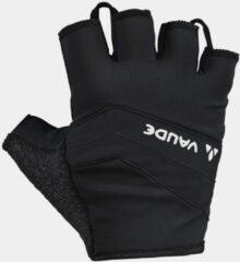 Vaude Active Vingerloze Fietshandschoen Zwart/Donkergrijs