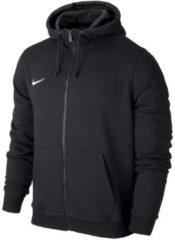 Sweatjacke Team Club Full Zip Hoody mit Vislon-Reißverschluss 658497 Nike Black/White
