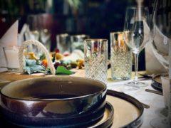 Gouden AVA GALA - Diner Servetten & Lopers - Rudolf - Linnen Look&Feel - Superieure Kwaliteit