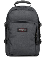 Blauwe Eastpak Provider Rugzak 15 inch laptopvak - Black Denim