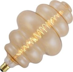 SPL BIG Flex Lampion LED filament 6W (vervangt 19W) grote fitting E27 goud