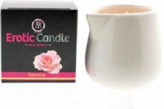Erotic Candle Massage Kaars - Femme - 165 gram