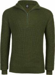 Brandit Marine - Leger - Coltrui - Schipperstrui - Troyer - Classic - Urban - Legend - Casual - Streetwear olive